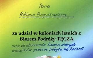 kolonia z BP Tęcza